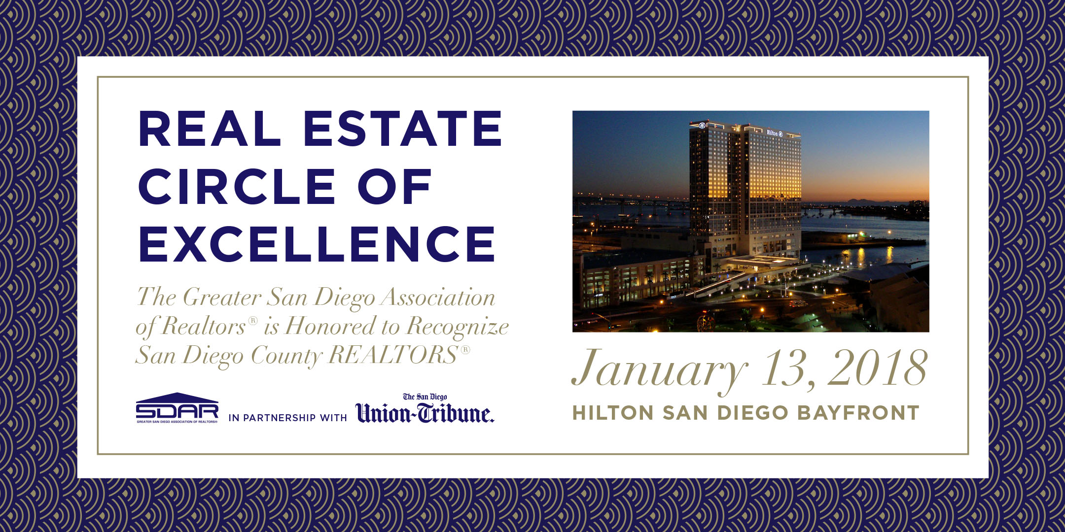 SDAR 2017 Real Estate Circle of Excellence